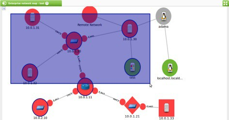 mapas de red