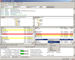 network tools filezilla