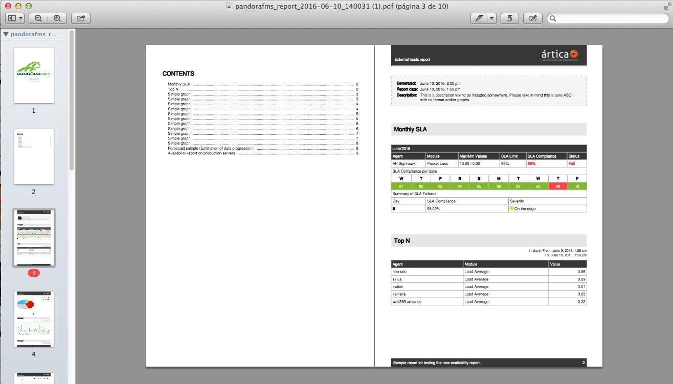 cacti vs nagios vs pandora fms report s