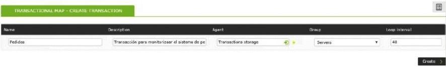 transactional monitoring map