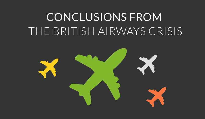 conclusion britis airways crisis