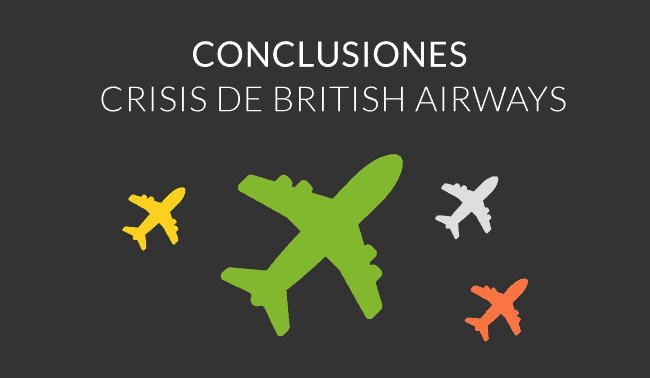 conclusiones crisis british airways