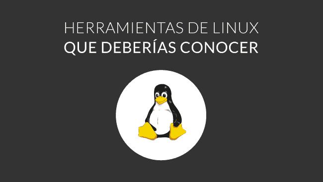herramientas linux