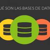 que son las bases de datos