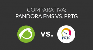PRTG Network Monitor vs. Pandora FMS