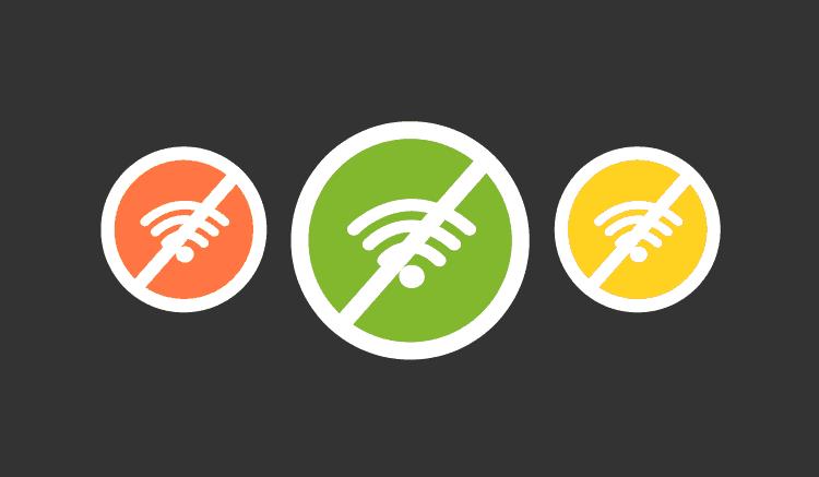 vivir sin internet