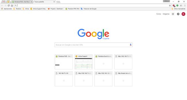 outils système Google Chrome