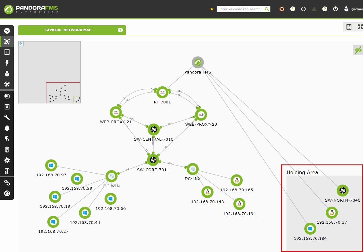 mapas y monitoreo