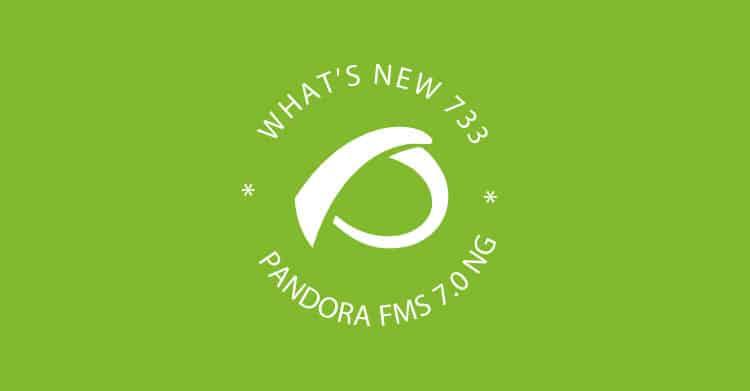 release Pandora FMS 733