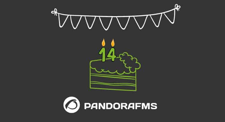 anniversary 14 pandora fms