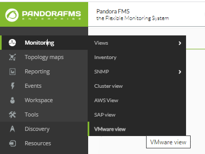 Vmware view menu.png