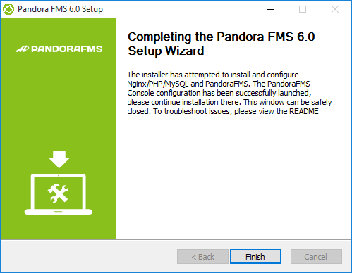 Pandora server install windows 08 eng.png