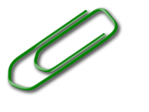 File:Green paperclip.png