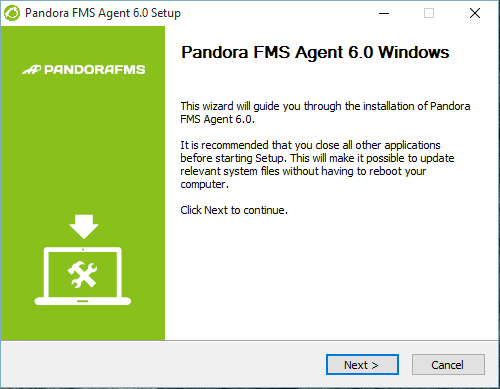 Pandora agent 3.0 RC3 install windows 02.png