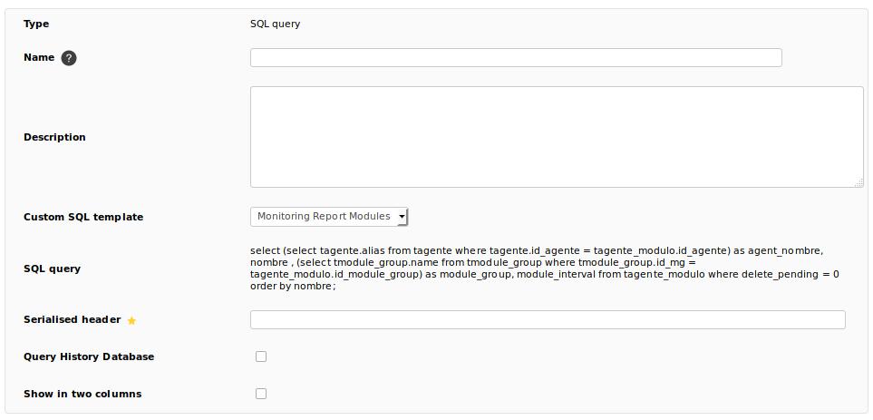 Pandora:Documentation en:Data Presentation/Reports - Pandora