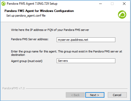 Pandora agent 3.0 RC3 install windows 071.png