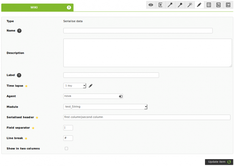 Serialize data - item editor tab - reporting builder.png