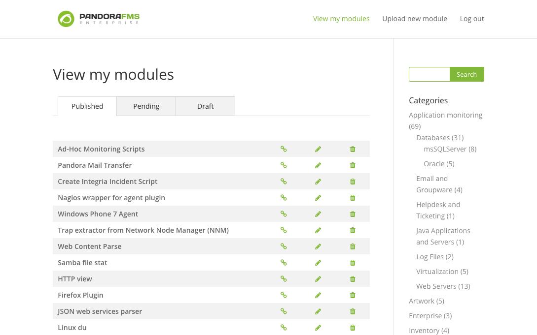 my modules