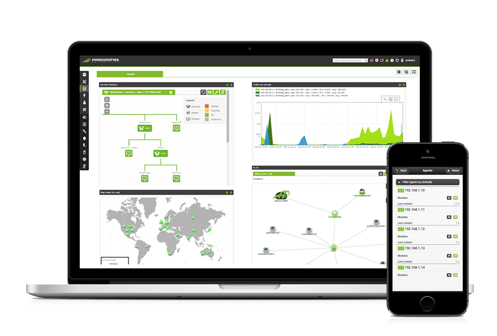 network monitoring screenshots