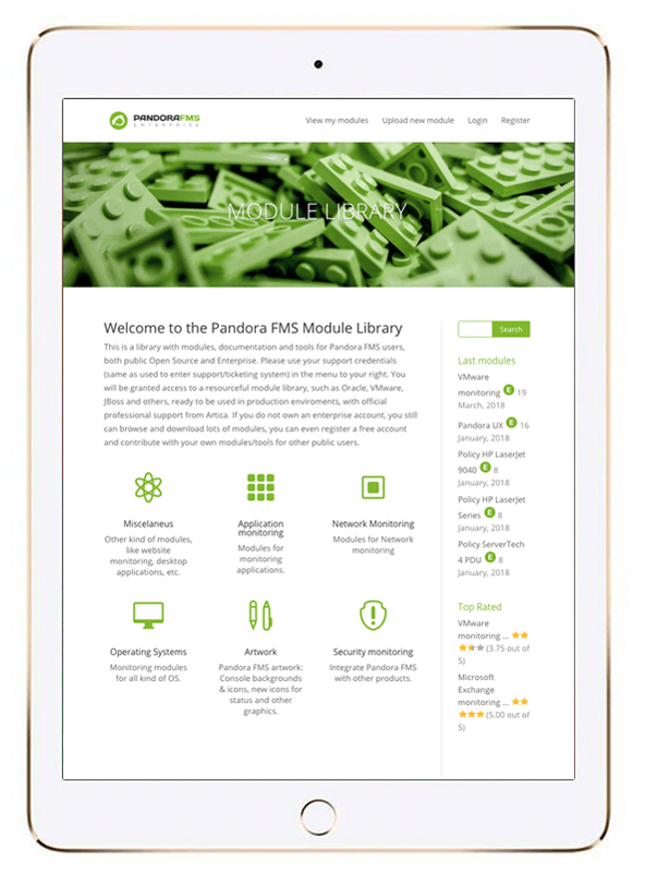 captura libreria de modulos de plugins para pandora fms featured