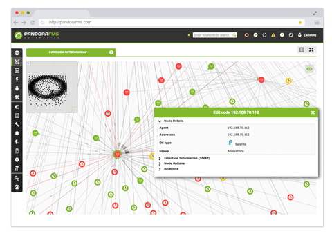 monitorizacion de red compleja - Monitorización de red