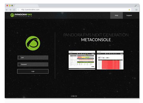 Alta escalabilidad y multicliente pandora fms featured