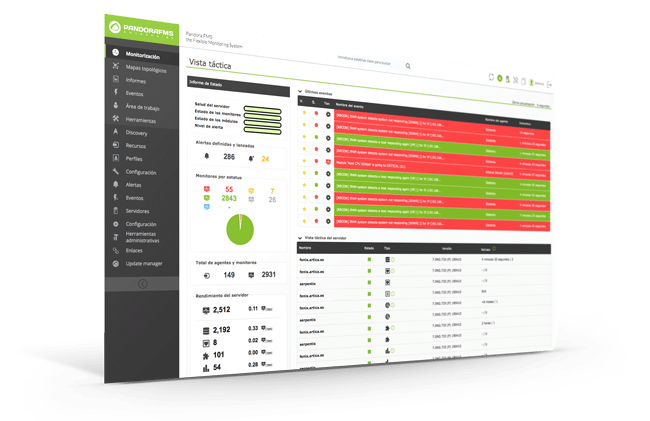 flexible monitoring software pandora fms unified