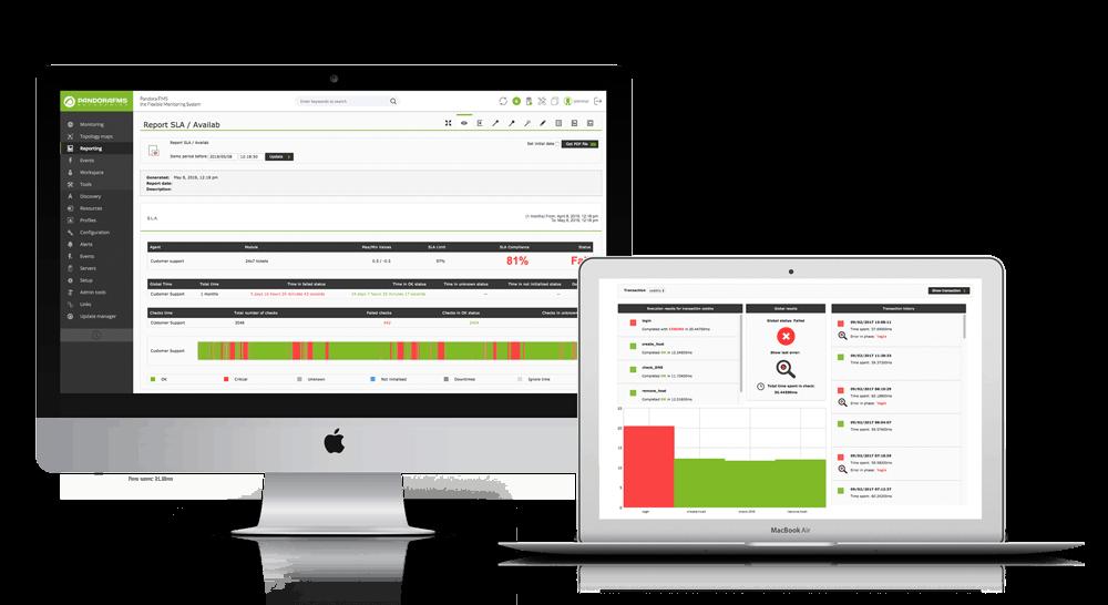 Monitorizacion de experiencia de usuario: captura avisos SLA