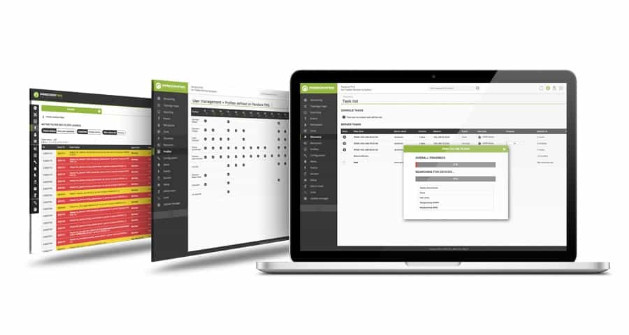 Monitorización de procesos de negocio mockup pantallas de pandora fms featured