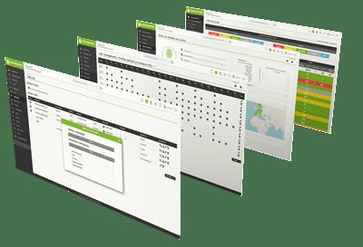 mockup demo pandora fms dashboard pantallas