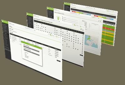 mockup demo pandora fms dashboard dashboard