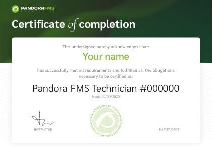 Certificado PandoraFMS