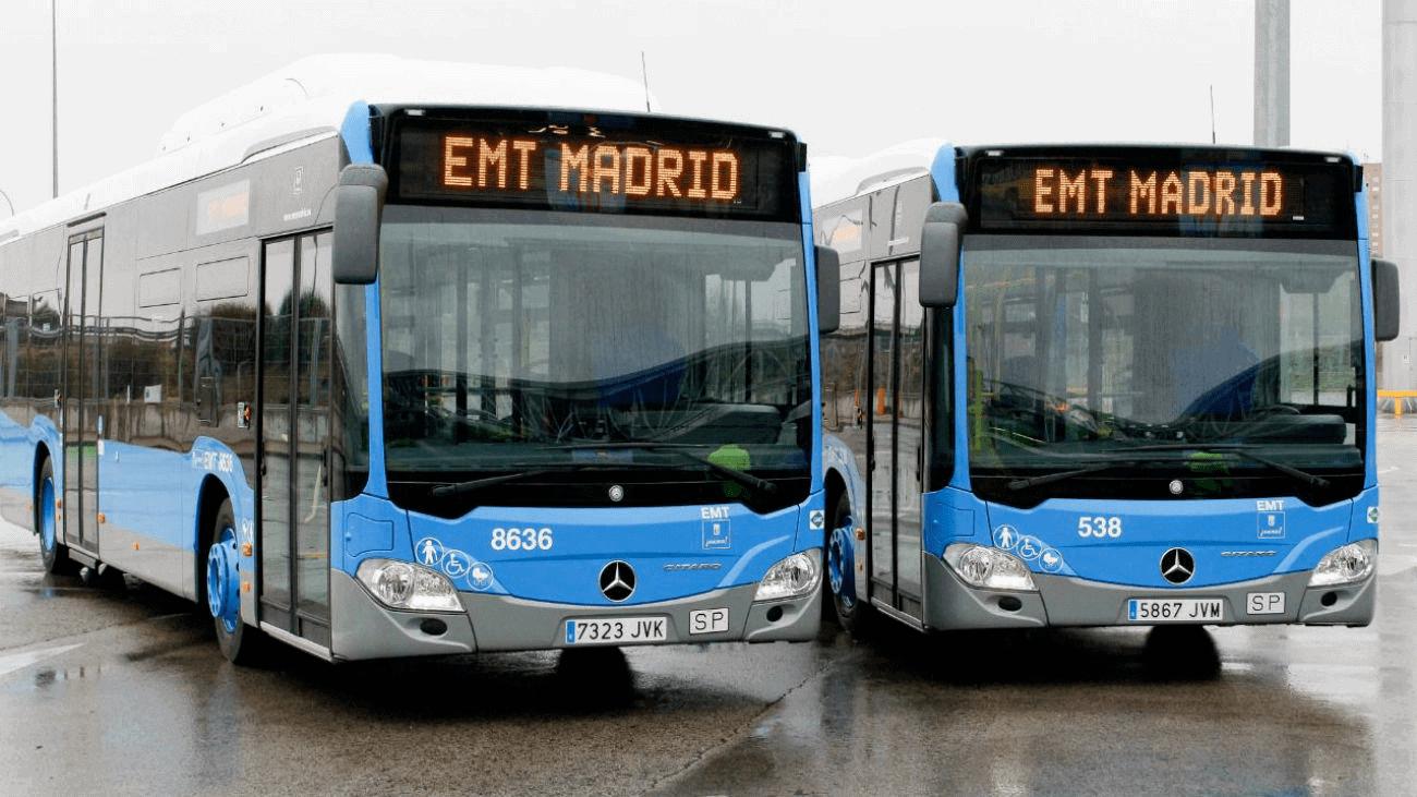Autobuses-EMT-Madrid